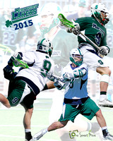 Lacrosse Player Collages