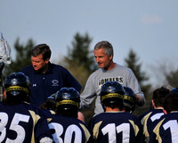 Coach Jeff Long with his Ithaca team